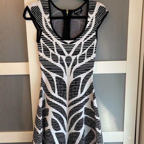 Bebe flared seamless dress